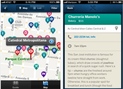 c 520x379 Lonely Planet finally launches country guide apps, kicking off with 6 iOS editions