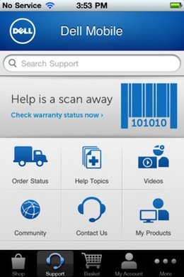 dell1 Dell UK launches an iOS and Android marketplace for purchasing products on the go