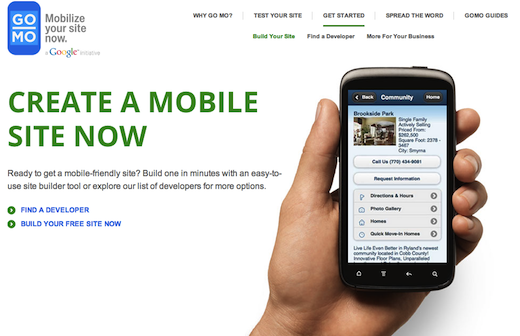 gomo Google teams up with Duda Mobile to offer businesses a free mobile website for one year