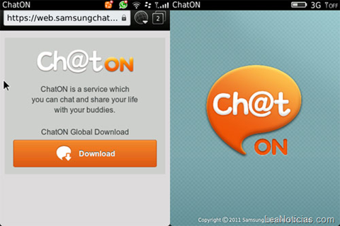 image1750 Samsungs messaging app ChatOn hits BlackBerry devices on its way to becoming truly multi platform