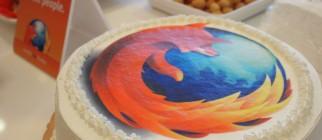 mozilla cake by mozillataiwan