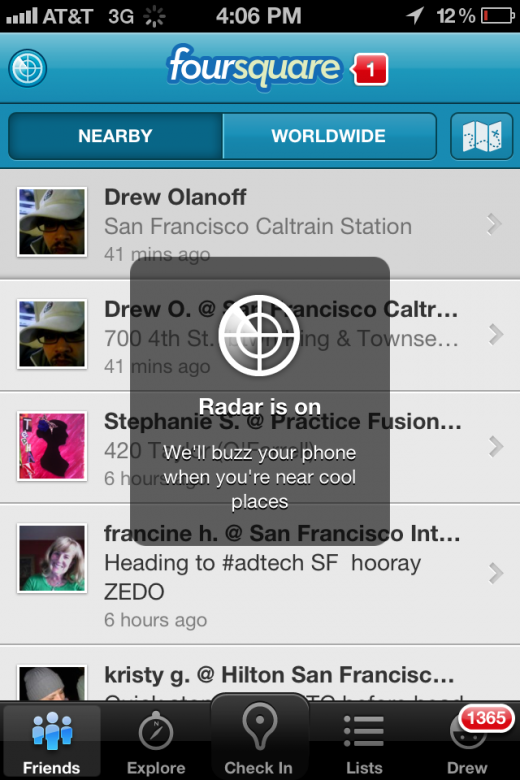 "photo17 520x780 Location aware app Highlight is working on showing ""what's"" around you in addition to ""who"""