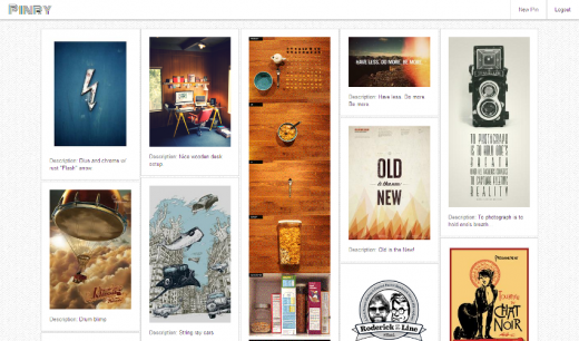 pinry 520x306 Pinry is a self hosted version of Pinterest that gives you full control of your pins