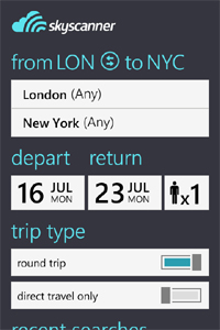 scannerapp2 Skyscanner's flight search app flies past 7m downloads in one year