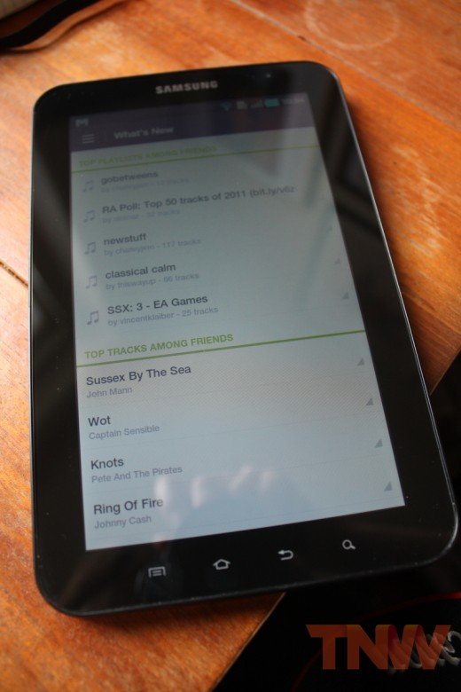 spfy 007wtmk 520x780 Spotify overhauls its Android app to add ICS support, new design, increased social and more