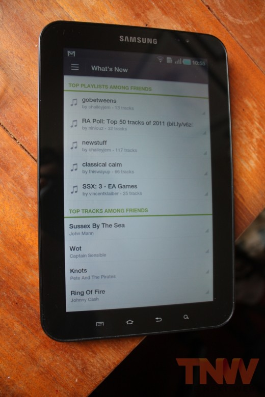 spfy 008wtmk 520x780 Spotify overhauls its Android app to add ICS support, new design, increased social and more