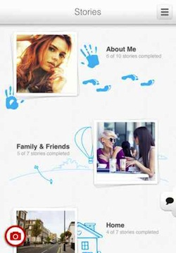 stories Create a photographic timeline of your life with iPhone app WeHeartPics