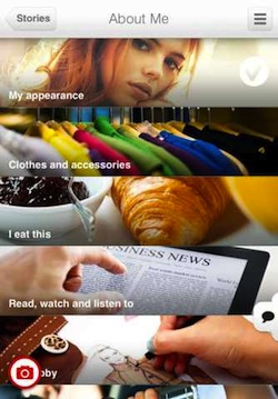 stories2 Create a photographic timeline of your life with iPhone app WeHeartPics