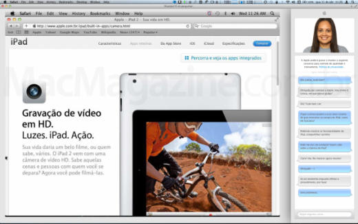 virtual tour and chat apple 520x325 Apple working to improve remote customer service in online store
