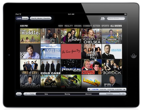 yap.tv visual guide Social TV app yap.TV wants to help broadcasters reach your second screen