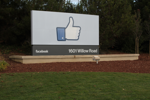 02 likesign 1 520x346 On the eve of its IPO, Facebook likely to set share price at $38   valuing the firm at $104 billion