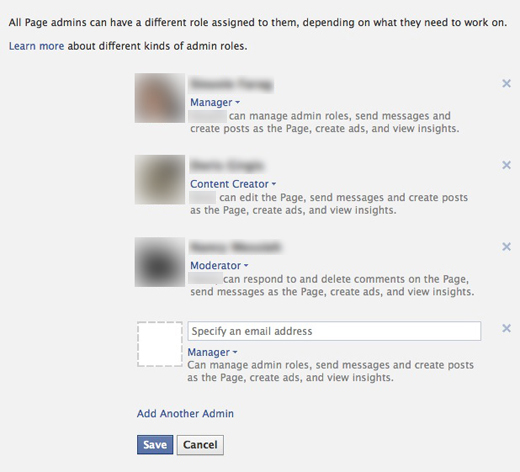 Admin Roles Facebook Pages finally get administrator roles and scheduled posts
