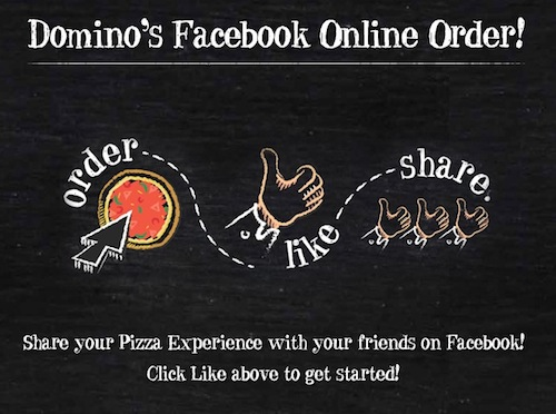 Dominos Dominos doubles down on social, launches Facebook ordering in Australia and New Zealand