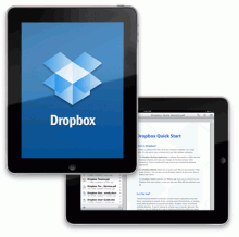 Dropbox iPad splash 220x218 You've lost or had your mobile phone stolen on holiday, now what?