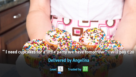 I need cupcakes  Former Yahoo EMEA exec launches p2p services marketplace Milk.ly
