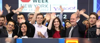 Internet Week New York Rings NASDAQ Closing Bell – Imgur