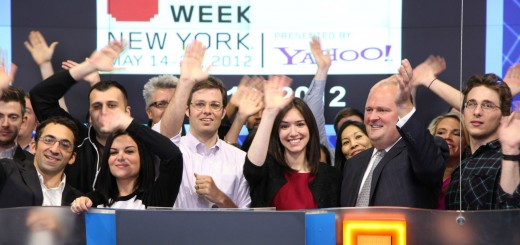 Internet Week New York Rings NASDAQ Closing Bell - Imgur