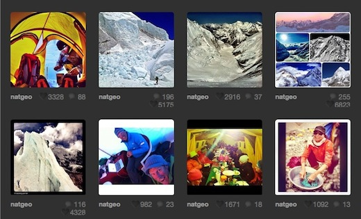 NatGeo National Geographic is documenting one teams ascent of Mount Everest using Instagram