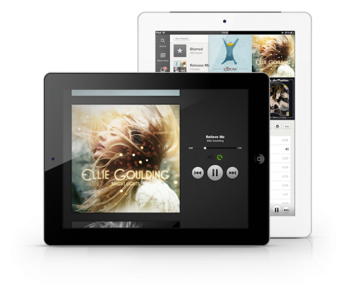 Now Playing 2 iPads 520x416 The wait is finally over: Spotify finally launches its new iPad app