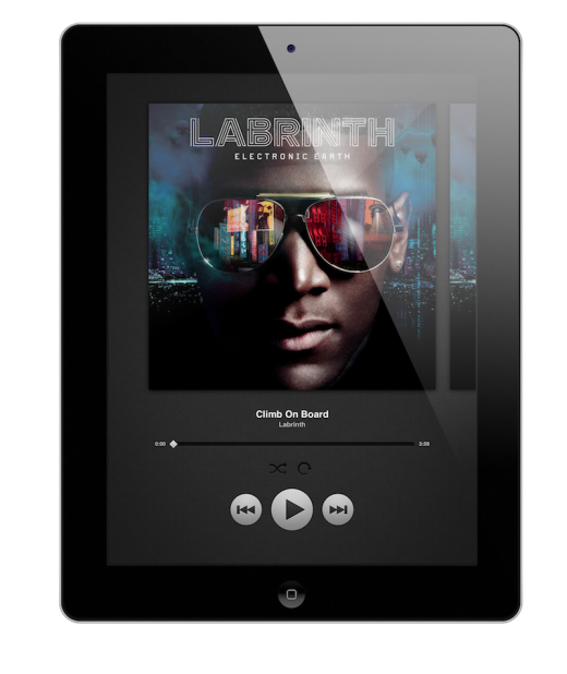Now Playing with frame 2 520x618 The wait is finally over: Spotify finally launches its new iPad app