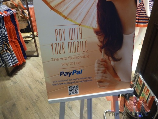 P1010753wtmk 520x390 Hands on with PayPals UK inStore mobile payment service