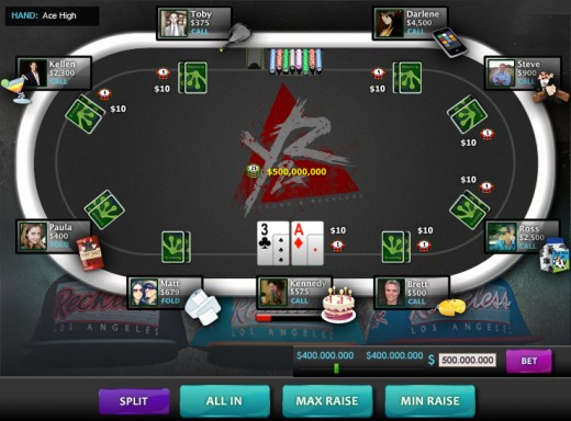 Poker 520x384 Full circle: MySpace co founder Tom Anderson becomes advisor for Facebook casino app