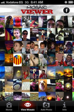 RevolutionMosaic2 Revolution Mosaic launches to create a crowdsourced image for our mobile generation