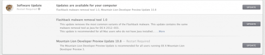 Screen Shot 2012 05 16 at 1.35.00 PM 520x109 Apple releases build 12A206j update to OS X Mountain Lion Developer Preview 3