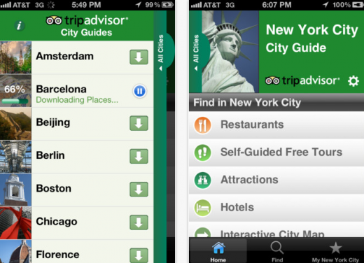 Screen Shot 2012 05 24 at 2.22.22 PM 520x376 TripAdvisor expands its City Guides to 50 destinations, adds new features for Android