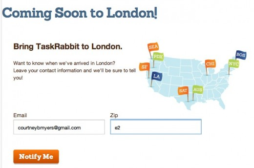 Screen shot 2012 05 08 at 12.21.56 PM 520x344 Coming Soon! TaskRabbit prepares for its London launch