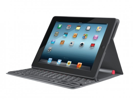 Solar KB Folio 520x390 Logitech launches the Solar Keyboard Folio, protecting your iPad and charging whilst you work