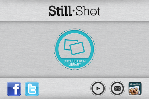 StillShot1 StillShot lets you easily extract images from your iPhone videos