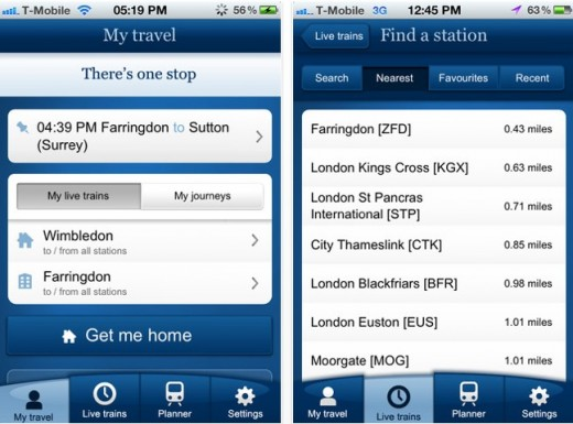 a 520x385 National Rail Enquiries launches real time mobile apps for UK travelers
