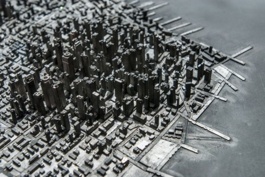 alt 2 520x348 This artist made a city out of movable type