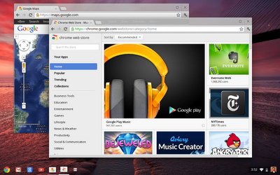 app centric UI Googles goal with Chrome OS, Chromebook and Chromebox: speed, speed, speed