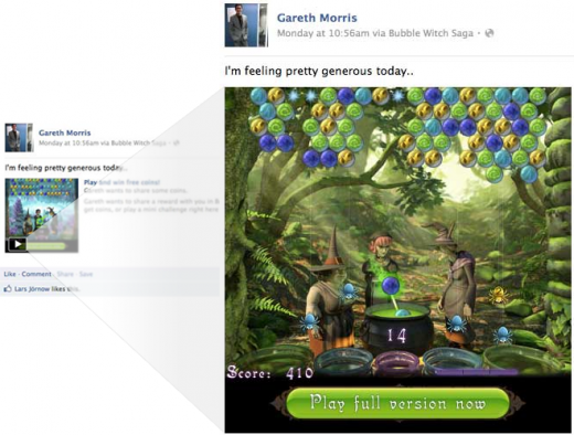 attachment 2 520x394 Facebook adds ability for developers to offer tiny playable versions of games right in news feed