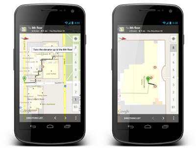 blogpost1 Google Offers and indoor walking directions come to the newest Google Maps for Android