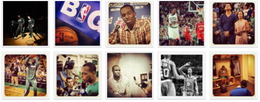 celticsinsta 520x204 Seven must follow sports teams on social media