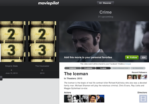 crime Movie discovery site Moviepilot.com scores $7m from DFJ Esprit, others