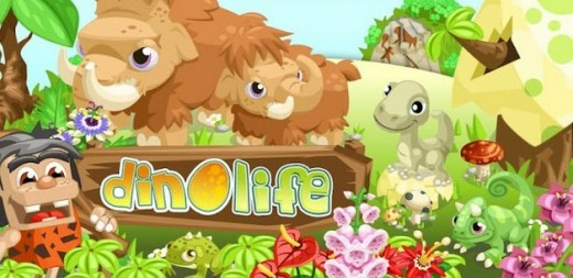 dino life2 520x253 Droidsclusive: Japanese mobile gaming firm GREE releases its first Android only title