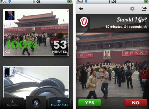 e3 520x381 TNW Pick of the Day: Indecisive? Ovoto lets you create impromptu yes or no polls around photos
