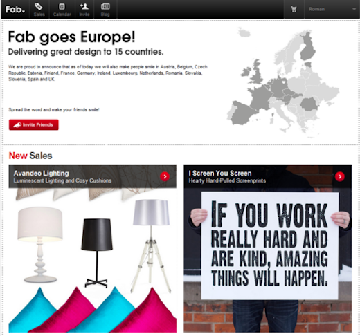 fabb Already selling €50,000 worth of design items per day in Europe, Fab.com rolls out in 13 more countries