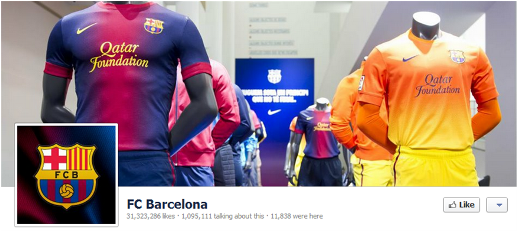 fcbarcelonafb Seven must follow sports teams on social media