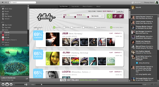 fellody Spotify launches Tastebuds.fm and Fellody apps to inspire love between music fans