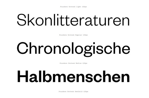 founders grotesk 30 of The Best Alternatives to Helvetica