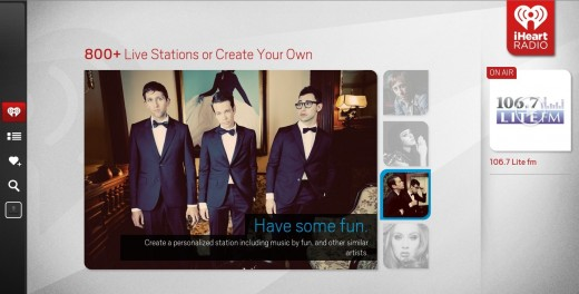 iHeartRadio replacement 520x264 iHeartRadio launches its Google TV app to let you rock out to music on your big screen