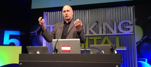 kensgall 520x230 The media overplays Steve Jobs angry side, says Ken Segall, the man who put the i in iMac [Video]
