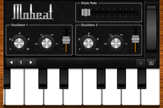 mobeat 1 520x346 Miss Googles Moog Doodle? Heres an app you should download