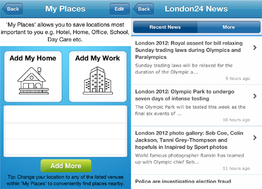 mycityway2 New London city guide provides much more than the usual maps and tourist sites
