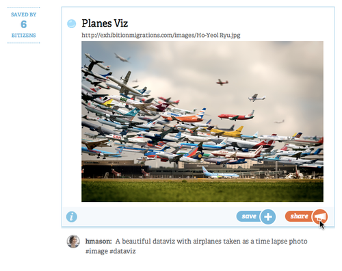 network planes action Bitly launches social discovery features, a complete redesign, iPhone app & new Chrome Bookmarklet